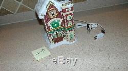 Enesco North Pole Village 629278 Firehouse. M13