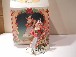 Enesco North Pole Village Elf, 1986 Romper Rare piece