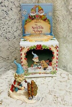 Enesco North Pole Village Elf Fronsie 1992 Zimnicki Bakery Series And Box 830895
