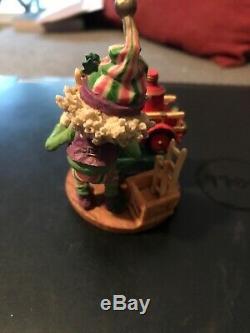 Enesco North Pole Village Elf Punkie #861960 1994 Sandy Zimnicki Used