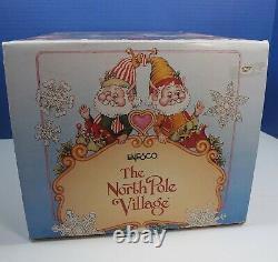 Enesco North Pole Village Elves TAILOR SHOP Nightlight Sandi Zimnicki WithBox RARE