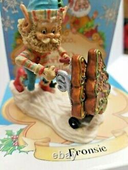Enesco North Pole Village Fronsie Elf figurine 1992 by Sandy Zimnicki #2