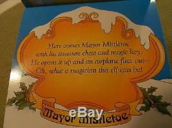 Enesco North Pole Village Mayor Mistletoe signed 1994