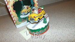Enesco North Pole Village Ramblin Santa Z-5 In Original Box