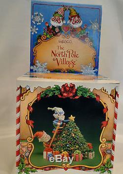 Enesco North Pole Village Twinkies & Tootsie perfect condition 1986 Zimnicki