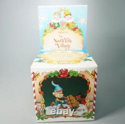 Enesco The North Pole Village Fronsie Elf #830895 1992 Zimnicki Rare Vtg