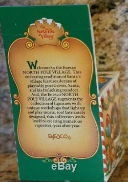 Enesco The North Pole Village Howdy 878057 Vintage Rare Find