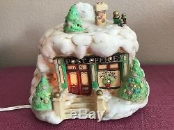 Enesco The North Pole Village Post Office Musical Night Light 422185