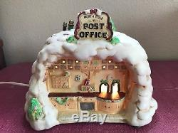 Enesco The North Pole Village Post Office Musical Night Light 422185