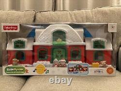 Fisher Price Little People Santa's North Pole Cottage Village TRU Christmas New