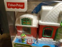 Fisher Price Little People Santa's North Pole Cottage Village TRU christmas