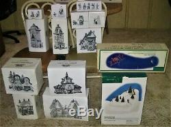 Giant 32pc Heritage Village Collection North Pole Series Christmas Set