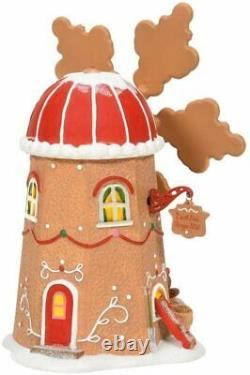 Gingerbread Cookie Mill Department 56 North Pole Village 6007610 Christmas Z