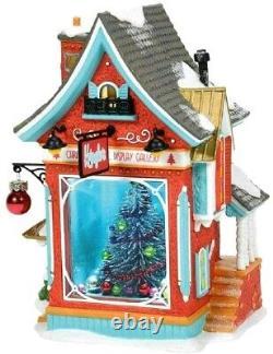 Kringles Christmas Tree Disp Gallery Department 56 North Pole Village 6007609 Z