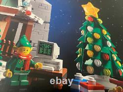 LEGO 10275 Winter Village Elf Club House Christmas Holiday North Pole NEW SEALED