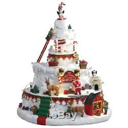 LEMAX Christmas Village House THE NORTH POLE TOWER FREE LIGHT SET OFFER