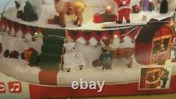 Lemax 2018 NORTH POLE TOWER #84348 Sights & Sounds Village SIGNATURE COLLECTION