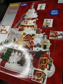 Lemax Christmas 2018 NORTH POLE TOWER #84348 Sights & Sounds Village