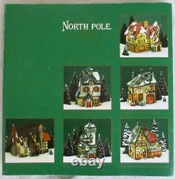Lot Department 56 North Pole Series Heritage Village++(33 pieces)