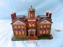 Lot of 5 Department 56 Christmas Dicken's Village & North Pole House Pub Naval