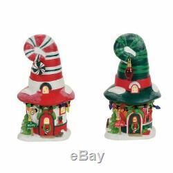 Merry Lane Cottages Box Set Department 56 North Pole Village Dept NEW 4056664 Li