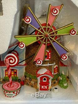 Mib Dept 56 Christmas Candy MILL Village North Pole Series 56.56762 Lights