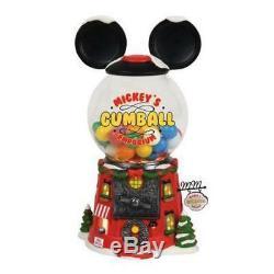 Mickey's Gumball Emporium Department 56 North Pole Village Dept NEW 4056664 Lit