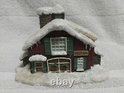 Micro Seasons Table Top North Pole Village 6 of 10 Building Collection Vintage