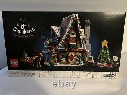 NEW Lego 10275 Winter Village Elf Club House Christmas Holiday North Pole Sealed