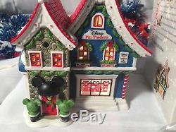 New Department 56 North Pole Series Mickeys Pin Traders #4044837 Village Piece