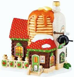 New Dept 56 Sizzlin' Griddle, North Pole Village #4050965, Pancakes Sweet Shop