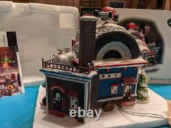 North Pole D56 Hot Wheel's Custom Car Shop