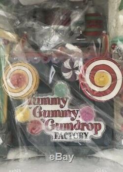 North Pole Dept 56 Village Animated Yummy Gummy Gumdrop Factory //MIB//