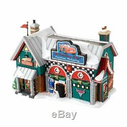 North Pole Village Dept. 56 Cars Holiday Detail Shop #4025277 NIB