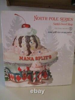 Nortj Pole Village Nana Ice Cream Parlor New In Box