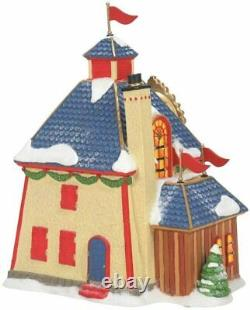 Nutcracker Factory Department 56 North Pole Village 6007611 Christmas snow Z