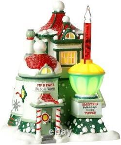 Pip & Pop's Bubble Works Department 56 North Pole Village 4025280 Christmas Z