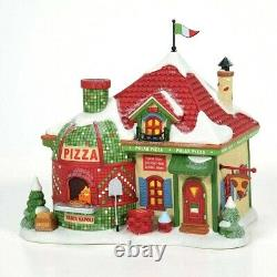 Polar Pizza Department 56 North Pole Village 6007612 Christmas restaurant Z