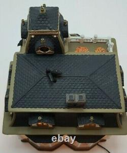 RARE 34050 Dept 56 Original Snow Village Halloween Haunted Mansion BLACK ROOF