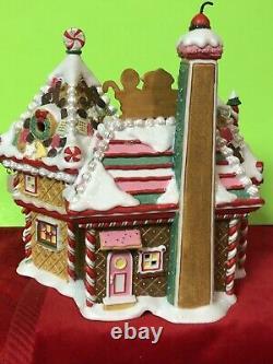 RARE Dept 56 North Pole Village NIB Christmas Sweet Shop 30th Anniversary #6073