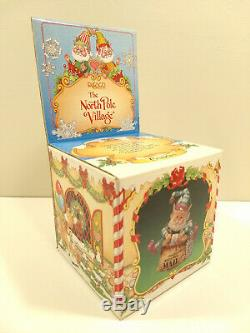RARE Enesco 1990 SANDI SIMNICKI The North Pole Village CRINKLES 830143 ELF