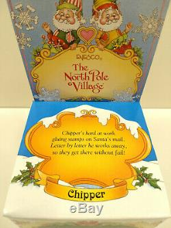 RARE Vtg Enesco THE NORTH POLE VILLAGE CHIPPER Elf #869694 1994 SANDY ZIMNICKI