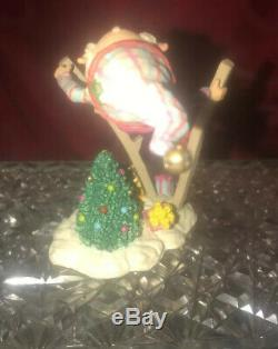 Rare Vintage 1991 1992 THE NORTH POLE VILLAGE Figurine TWIGS ELF #830917 ENESCO