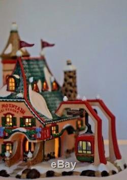 Retired Dept. 56 North Pole Series Elf Mountain Ski Resort Christmas Village