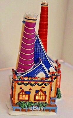 Retired Dept 56 North Pole Village 30 Th Anniversary Building Works Christmas