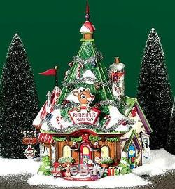 Rudolph's Misfit Headquarters NEW Department Dept. 56 North Pole Village NP