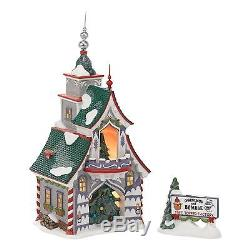 Rudolphs Silver and Gold Tree Topper 4036544 North Pole Village Department 56