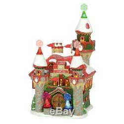 Santas Snowflake Palace Dept 56 North Pole Village 6005430 Christmas castle Z