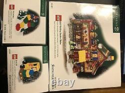 Set Of 3 Lego Winter Village Creation Station North Pole Dept. 56 North Pole