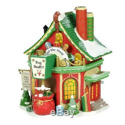 St Nicks Gift Sorting Center Dept 56 North Pole Village 6005431 Christmas Z
